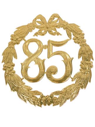 85 jaar Deurborden : Deurbord 85 jaar goud   Bozikova feest en  85 jaar